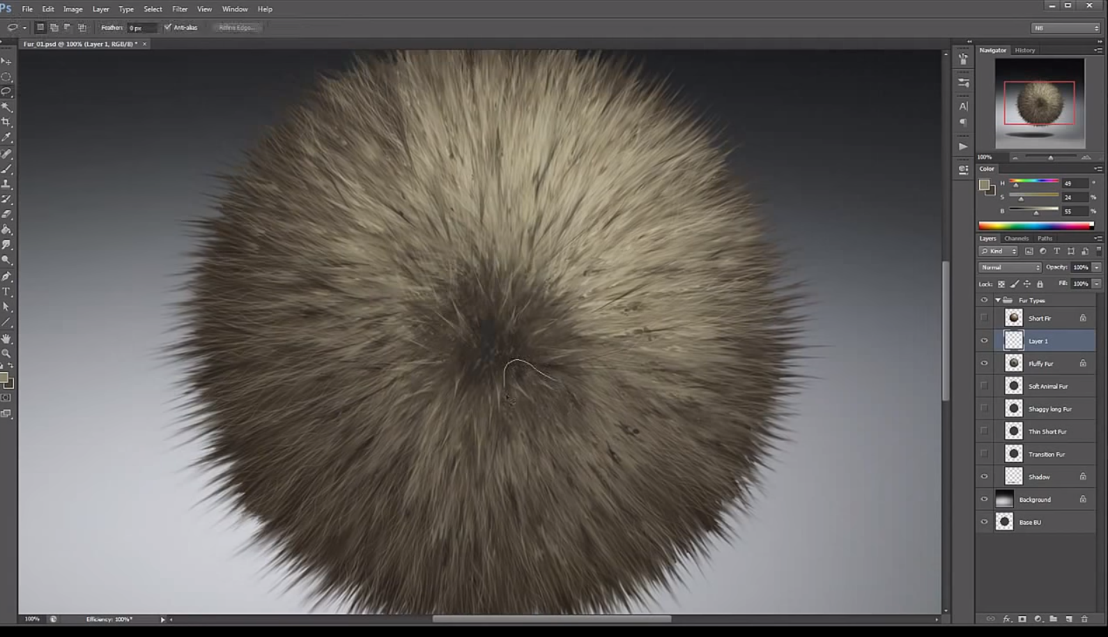 Painting Fur With Nate Hallinan